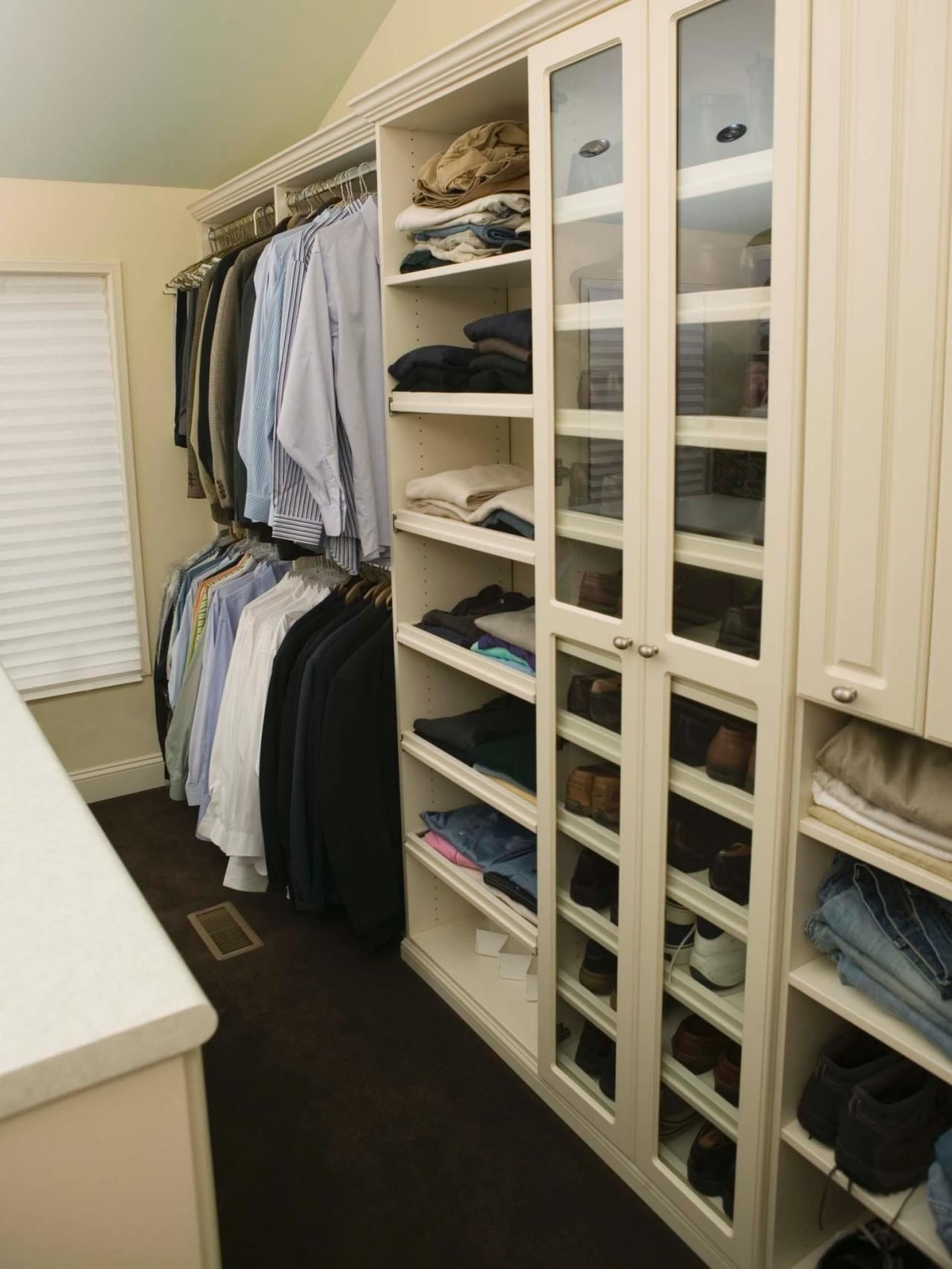 White Rattan Wardrobes Intended For Most Recently Released Master Bedroom With Walk In Closet Design The Eye Paint Colors (View 9 of 15)