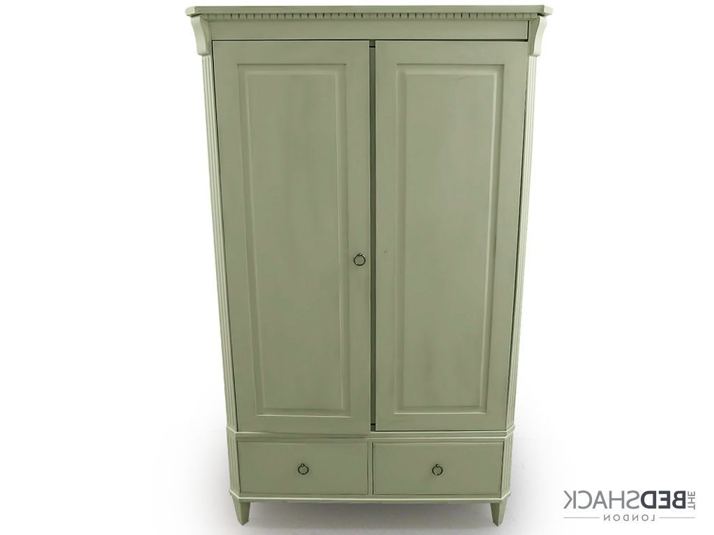 White Shabby Chic Wardrobes In Most Recent John Lewis White Shabby Chic Wooden Wardrobe Armoire 2 Doors  (View 12 of 15)