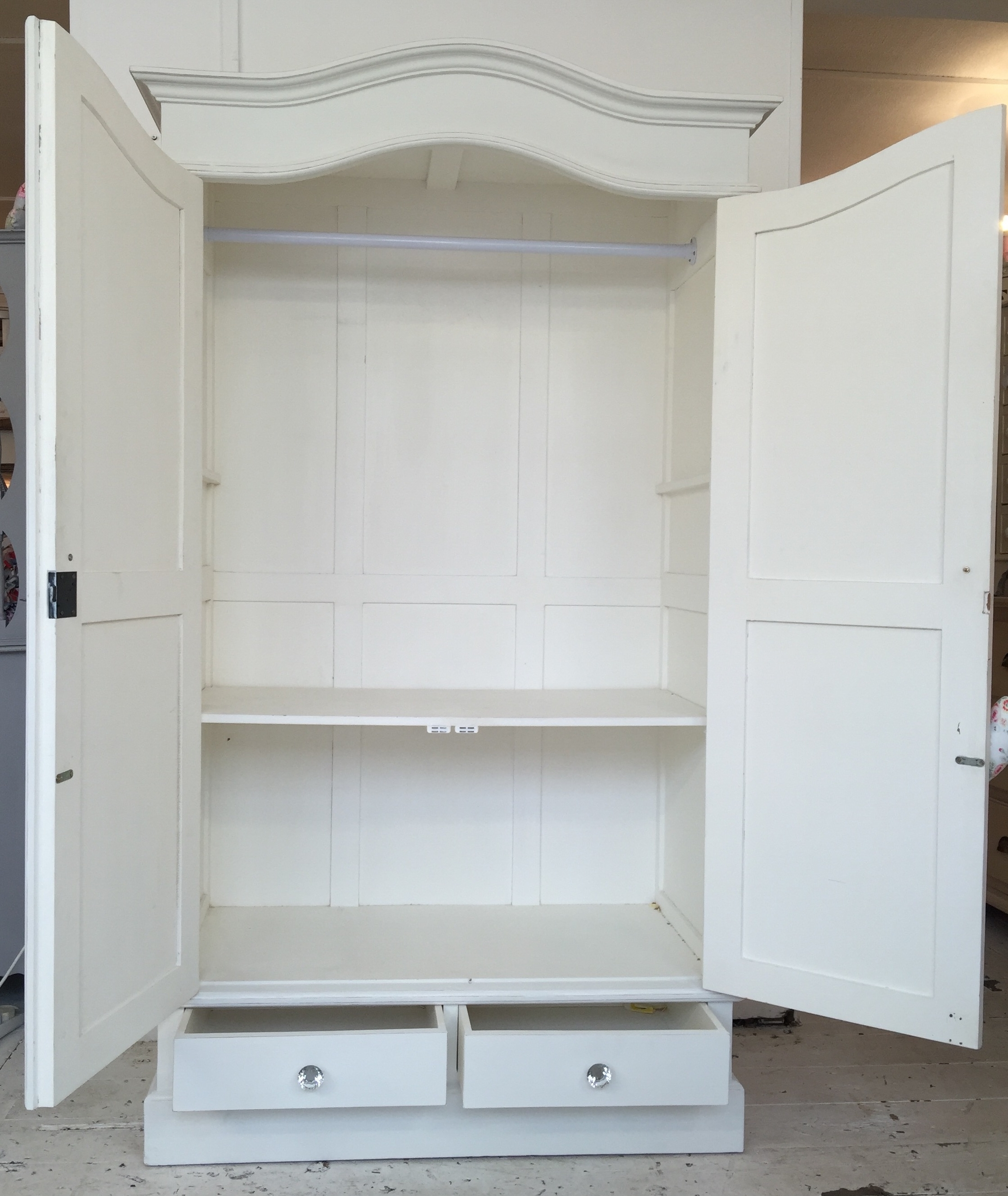 White Shabby Chic Wardrobes Throughout Favorite White Shabby Chic Wardrobe – Home Sweet Homehome Sweet Home (Gallery 3 of 15)