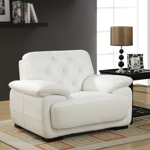 White Sofa Chairs In Fashionable Sofa (View 3 of 10)