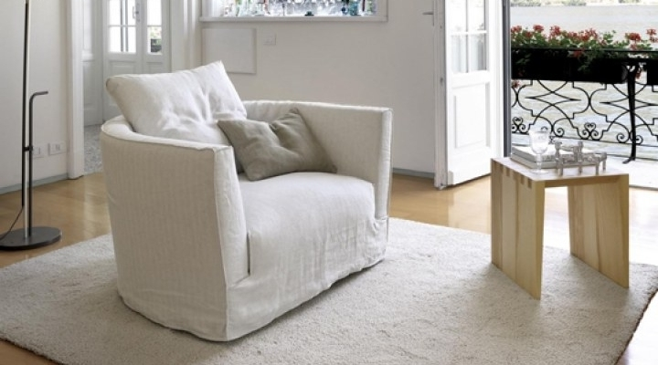 White Sofa Chairs Throughout Most Recent Chairs Designed For Comfort (View 9 of 10)