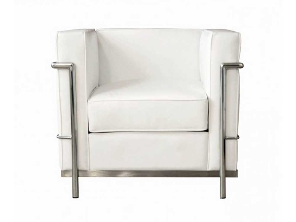 White Sofa Chairs With Regard To Fashionable Chair Design Ideas (View 2 of 10)
