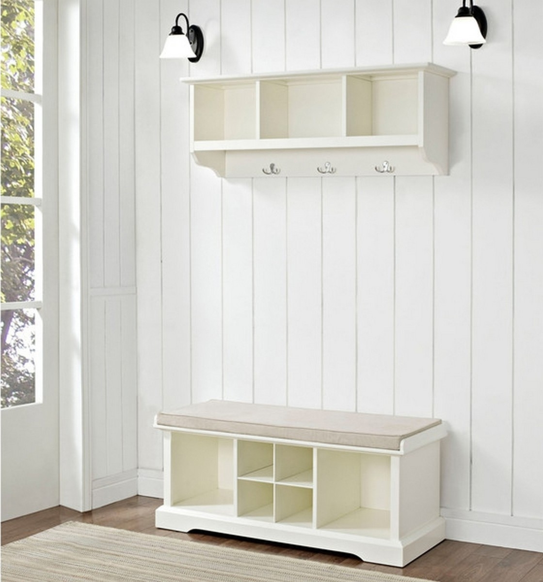 White Wicker Wardrobes Throughout Newest Image Result For Ikea Besta Wardrobe And Bench Combo Entryway (View 9 of 15)