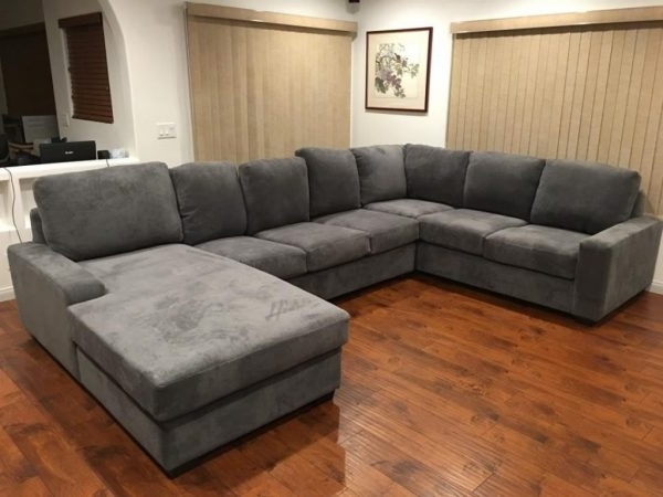 Wide Seat Sectional Sofas Regarding 2017 Sectional Sofas : Wide Seat Sectional Sofas – New Sectional Couch (View 7 of 10)