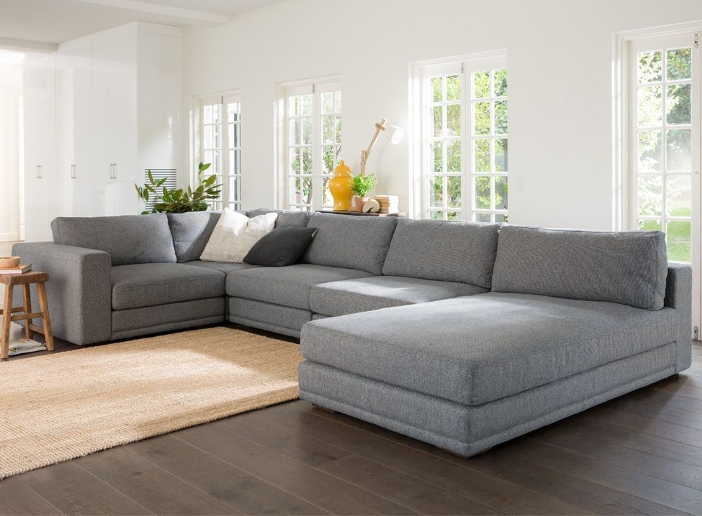Wide Seat Sectional Sofas Regarding Preferred Deep Seated Wide Seat Sectional Sofa Aired On Tv – Google Search (View 8 of 10)