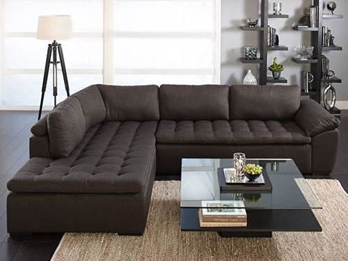 Wide Seat Sectional Sofas Within Famous Sectional Sofa (View 10 of 10)