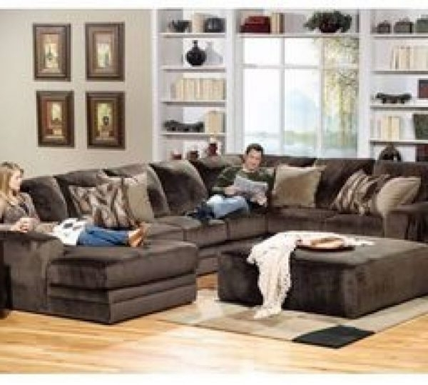 Wide Sectional Sofas Intended For Preferred Sectional Sofas : Extra Wide Sectional Sofa – Sectional Sofa (View 7 of 10)