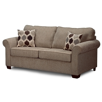 Wide Sofa Chairs Within Most Up To Date 68 Wide, 38 High, 38 Deep $424 Downey Upholstery Full Sleeper (View 6 of 10)