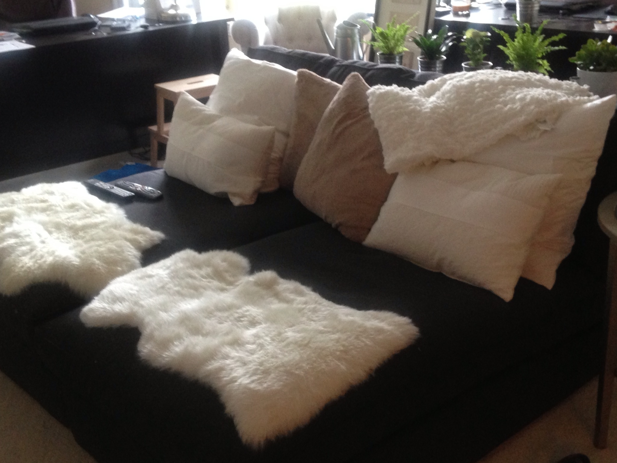 Widely Used 2 Kivik Chaises From Ikea + Lots Of Soft Fluffy Things = Tv Pertaining To Kivik Chaises (View 15 of 15)