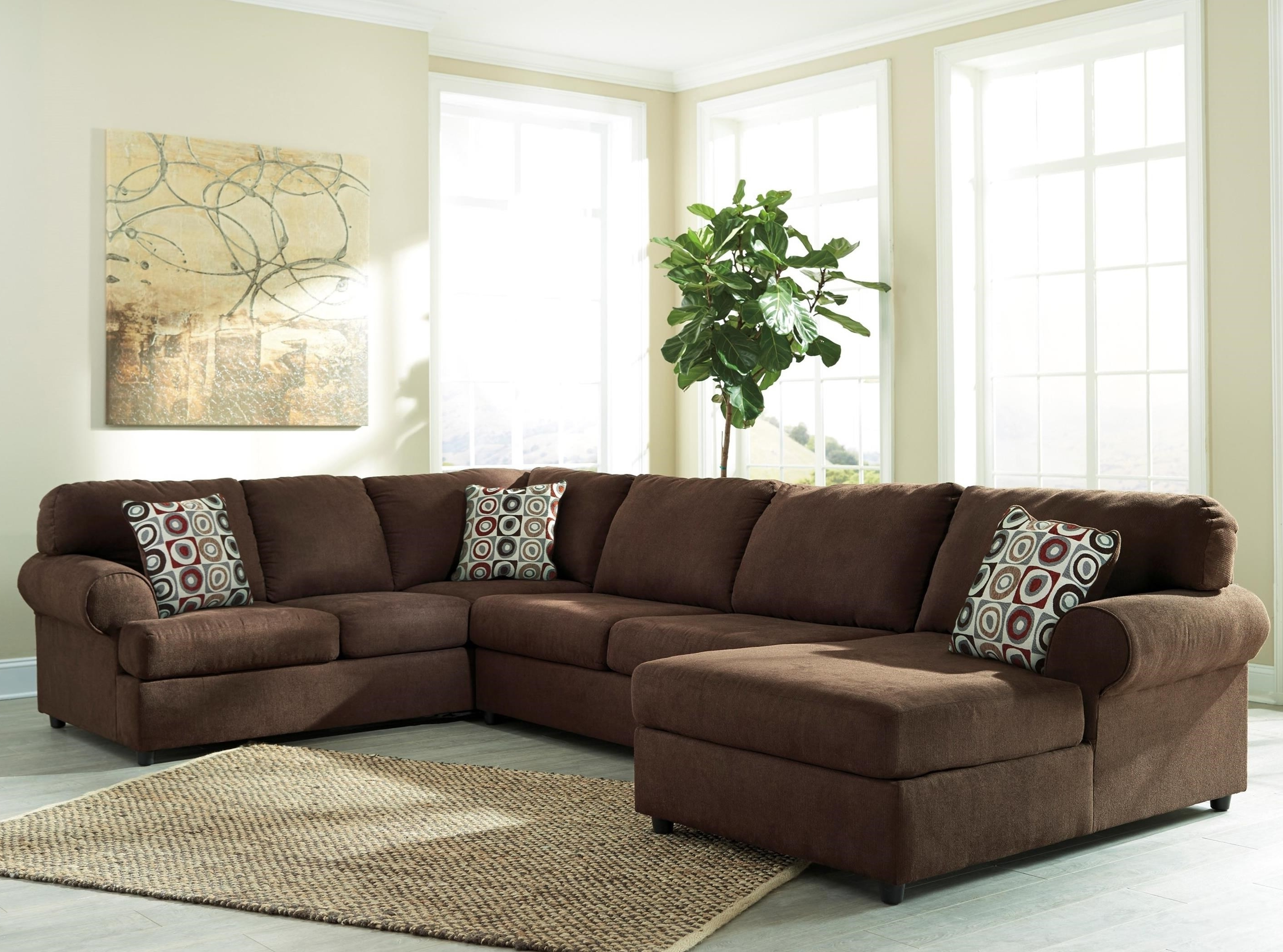 Widely Used Ashley Furniture Chaise Sofas Within Signature Designashley Jayceon 3 Piece Sectional With Left (View 14 of 15)