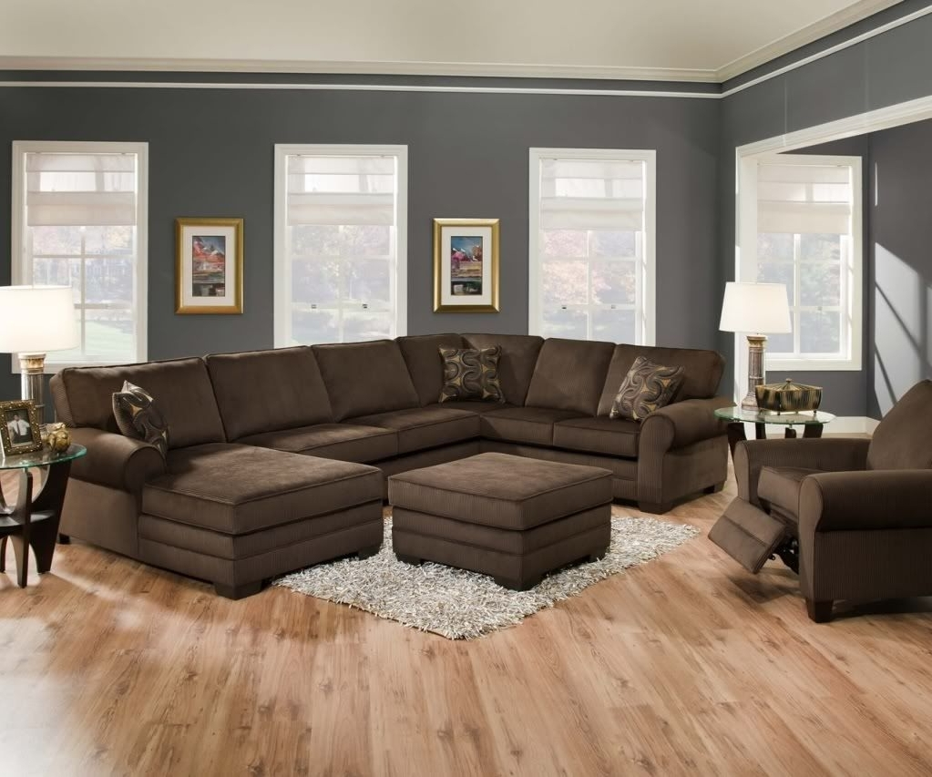 Widely Used Brown Sectionals With Chaise In Awesome Best Brown Sectional Sofas 96 With Additional Home (View 15 of 15)