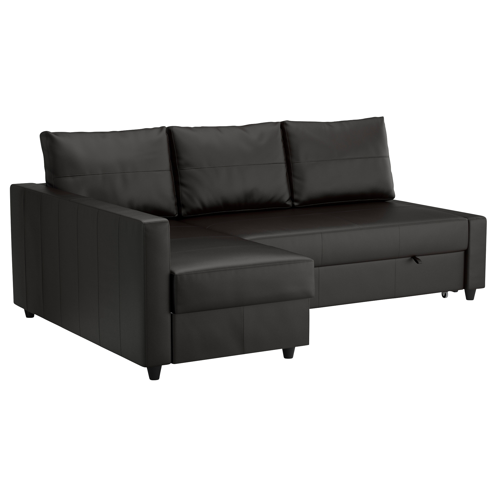 Widely Used Chaise Lounge Sofa Beds Within Friheten Sleeper Sectional,3 Seat W/storage – Skiftebo Dark Gray (View 15 of 15)