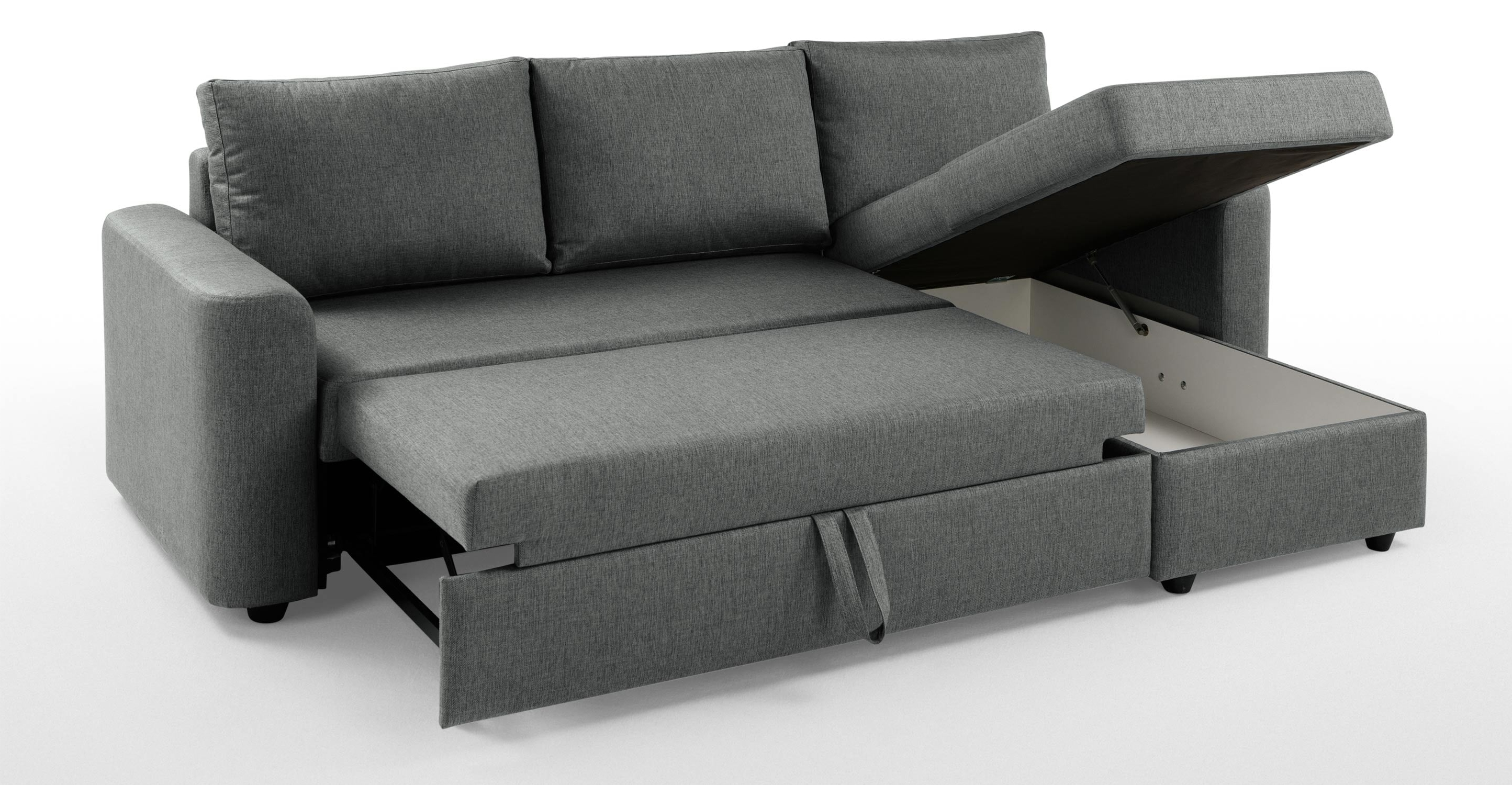 Widely Used Chaise Sofa Bed With Storage – Storage Designs Regarding Sofa Beds With Chaise (View 14 of 15)