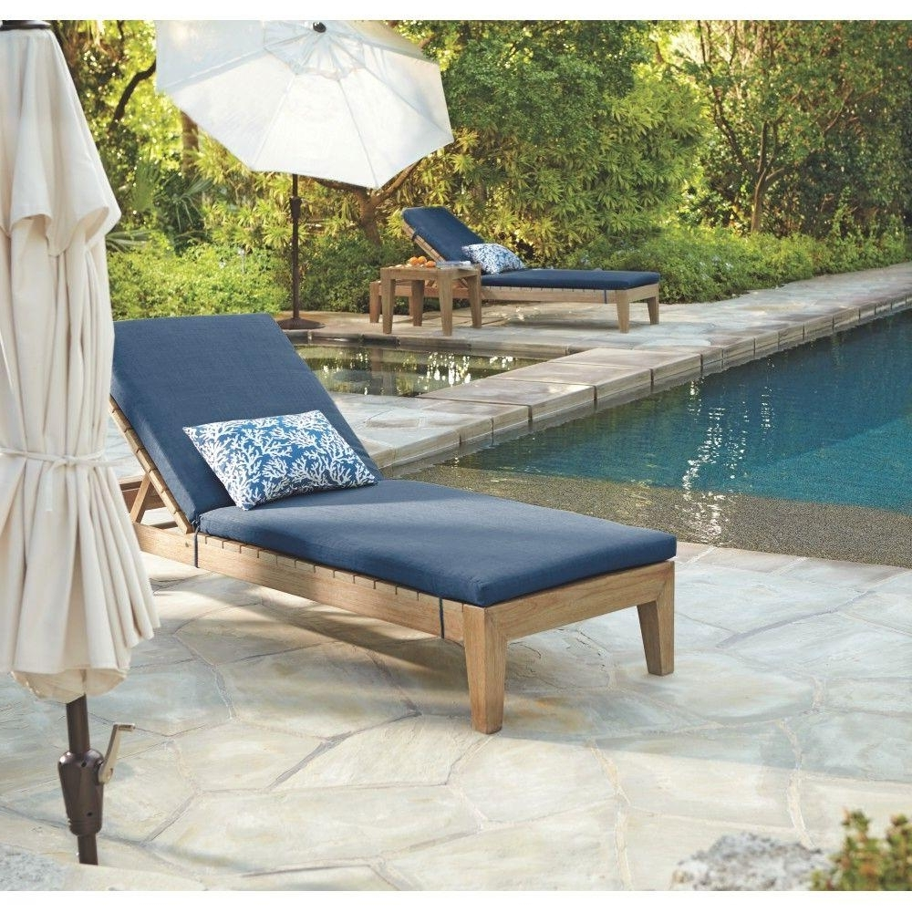 Widely Used Fabric Outdoor Chaise Lounge Chairs Within Home Decorators Collection Bermuda Distressed Grey All Weather (View 15 of 15)