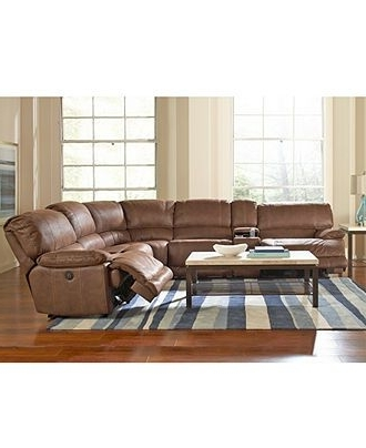 Widely Used Jedd Fabric Sectional Living Room Furniture Collection, Power With Jedd Fabric Reclining Sectional Sofas (View 9 of 10)