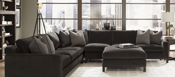 Widely Used Sectional Sofa: Magnificent Down Filled Sectional Sofa Down Filled Pertaining To Goose Down Sectional Sofas (View 10 of 10)