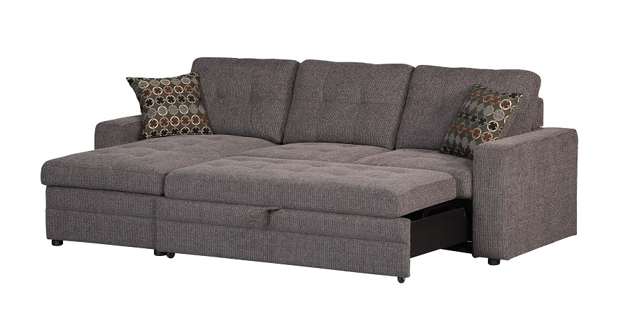 Widely Used Sleeper Sectional Sofas In Gus Collection 501677 Coaster Sleeper Sectional Sofa (View 9 of 10)
