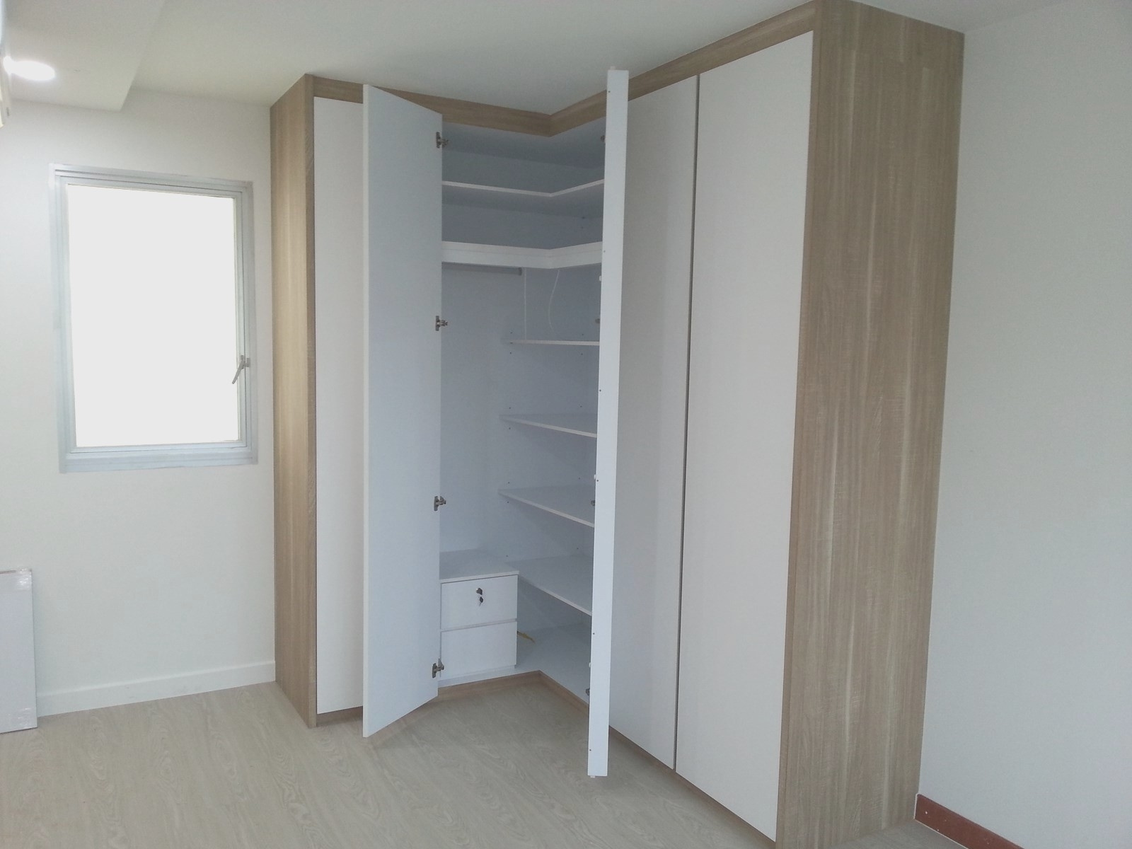 Widely Used Small Corner Wardrobes Regarding Bedroom : Bedroom New Corner Wardrobes For Small Bedrooms Decor (View 15 of 15)