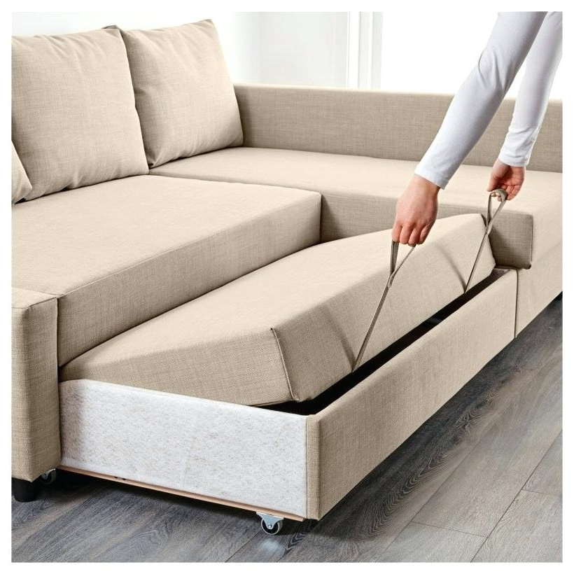 Widely Used Small Sofa Sleeper Image Of Flip Sofa On Wheel Small Sectional  Regarding Ikea Sectional