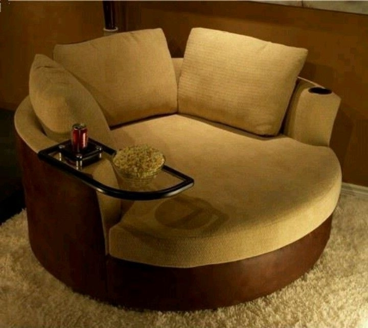 Widely Used Sofa : Amazing Round Sofa Chair Round Sofa Chair Round Sofa Chair In Circular Sofa Chairs (View 3 of 10)