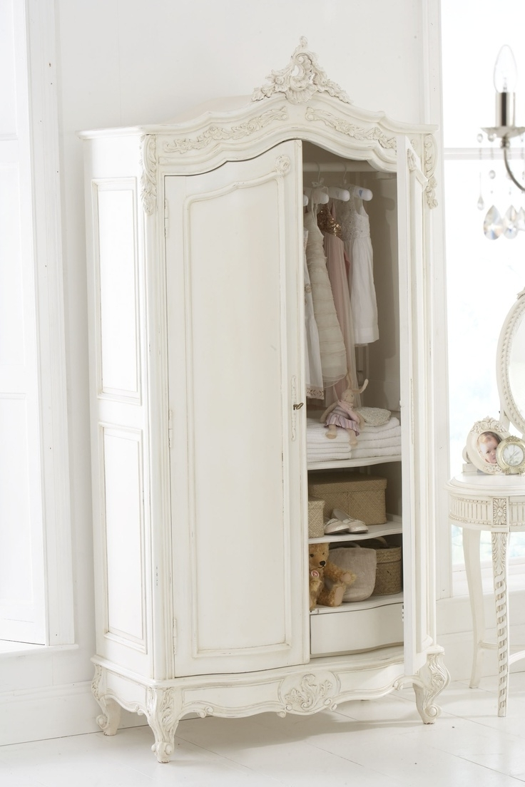 Widely Used Sophia Wardrobes Regarding Home Design : Fabulous French Shabby Chic Wardrobes Sophia (View 8 of 15)