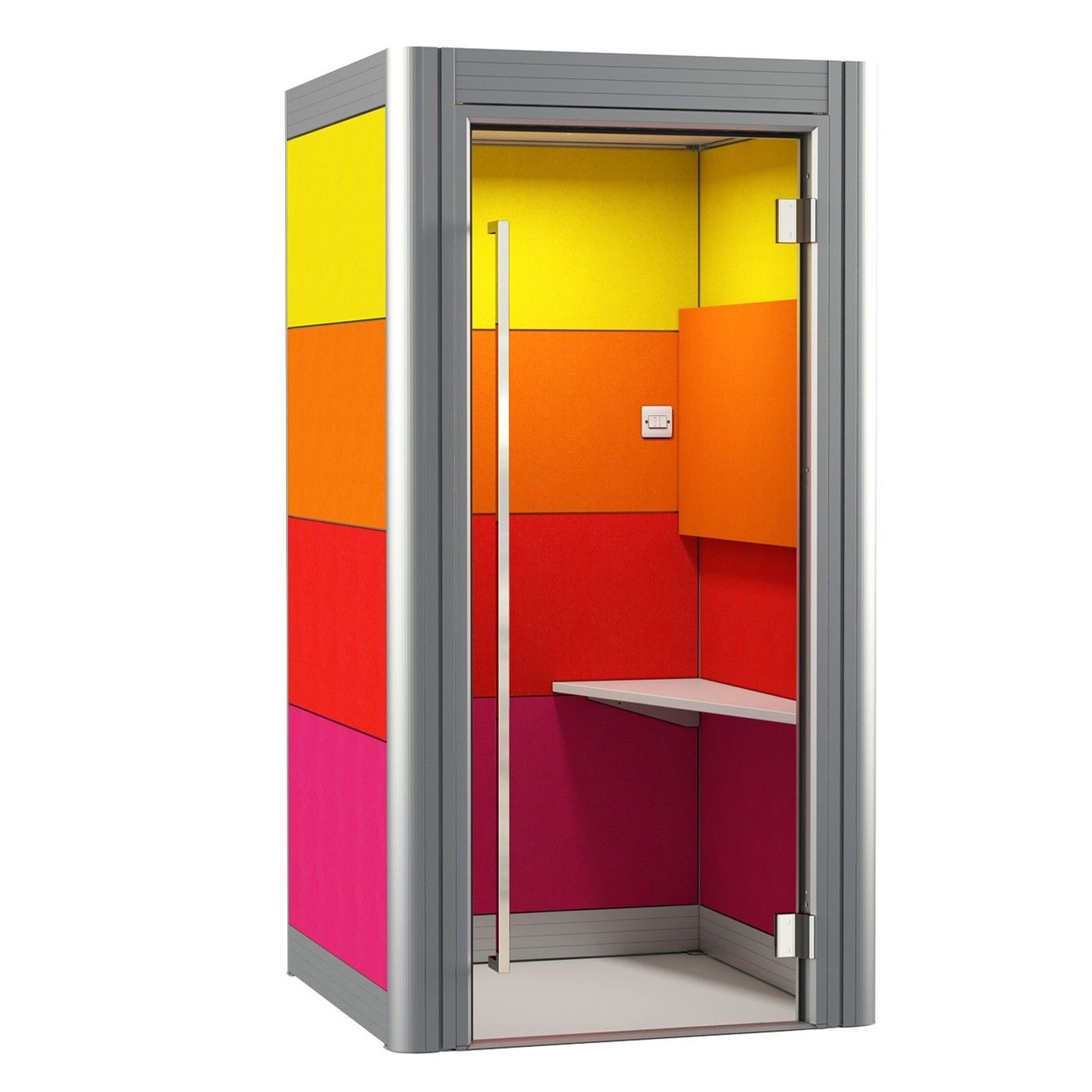 Widely Used Spacio Office Phone Booth Is A Single Person Acoustic Pod For With Regard To Telephone Box Wardrobes (View 15 of 15)