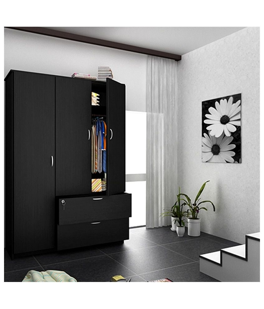 Widely Used Triple Door Wardrobes Inside Size Of Double Door Wardrobe • Double Door Ideas (View 15 of 15)