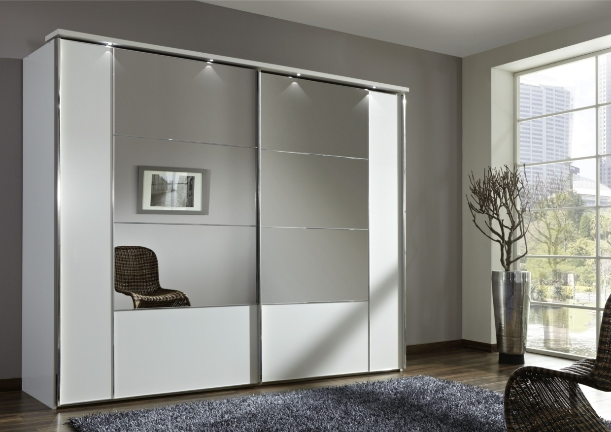 Widely Used White Mirrored Wardrobes In White Mirrored Sliding Closet Doors • Closet Doors (View 13 of 15)