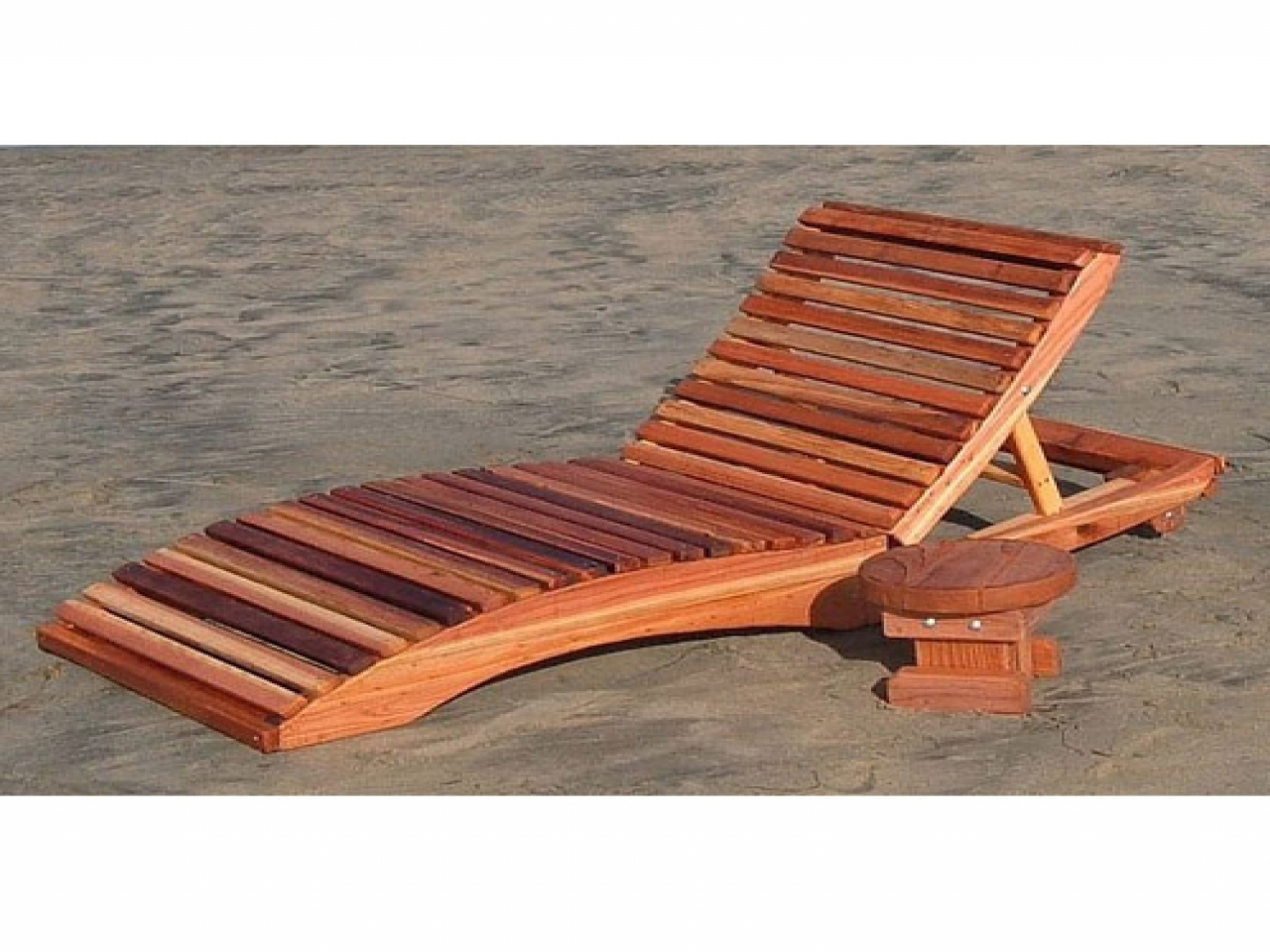 Wooden Outdoor Chaise Lounge Chairs Intended For Trendy Wood Outdoor Chaise Lounge Chairs • Lounge Chairs Ideas (View 11 of 15)