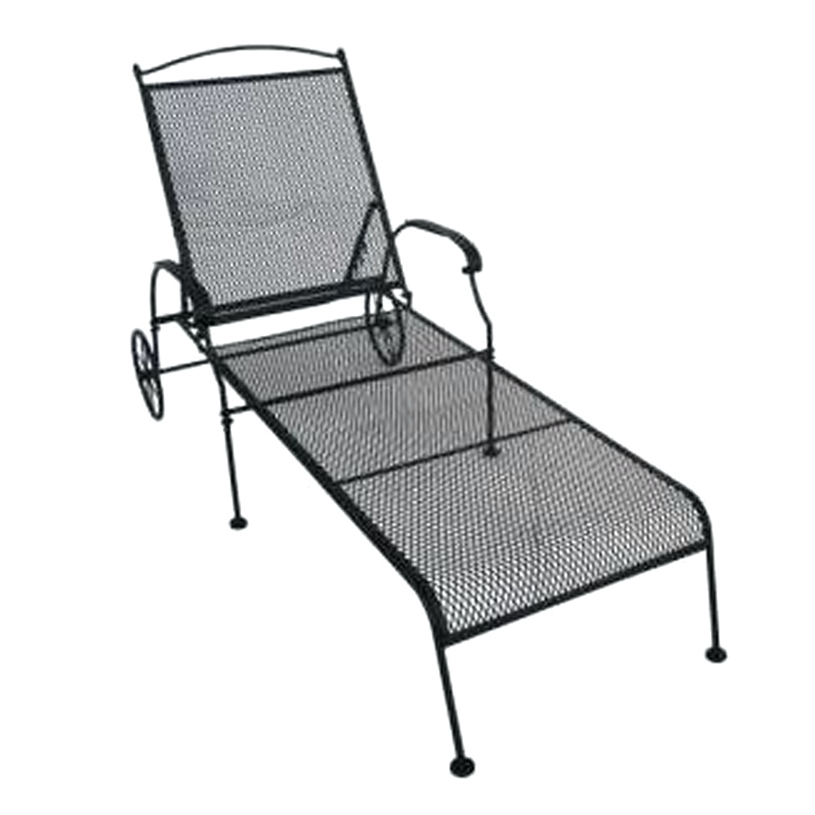Wrought Iron Outdoor Chaise Lounge Chairs With Recent Wrought Iron Chaise Lounge Chairs Outdoor • Lounge Chairs Ideas (View 15 of 15)