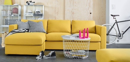 Yellow Sofa Chairs Within Current Sofas & Armchairs – Ikea Uae (View 10 of 10)