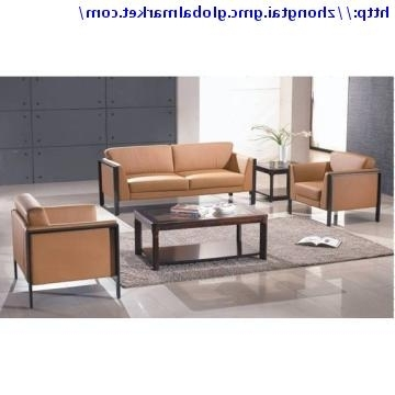 Zt S175, China Modern Leather Office Sofa Set/ Office Furniture Throughout 2017 Office Sofas And Chairs (View 4 of 10)