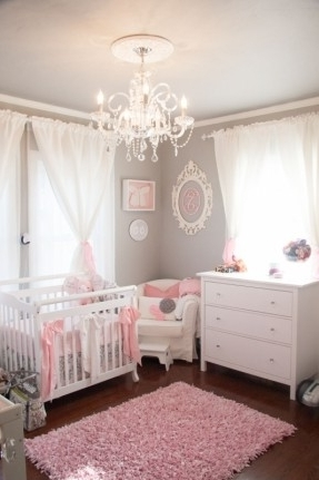 1000 Ideas About Nursery Simple Baby Girl Room Chandelier – Home In Most Recently Released Chandeliers For Baby Girl Room (View 1 of 10)