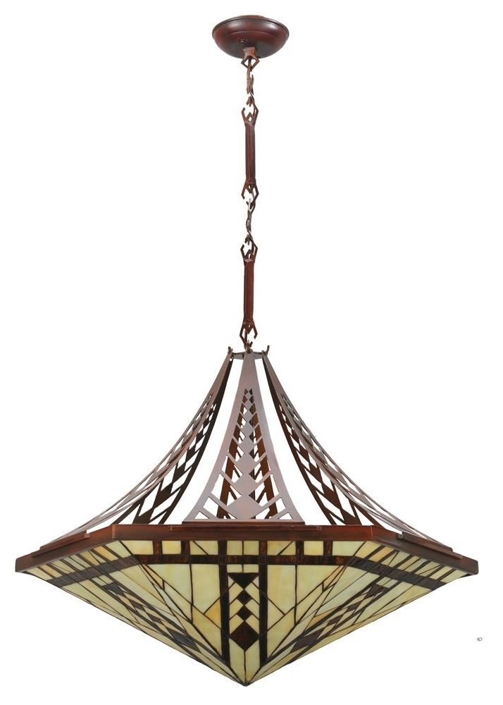 133 Best Mission / Asian Pendant Lighting Images On Pinterest Within Recent Inverted Pendant Chandeliers (View 1 of 10)