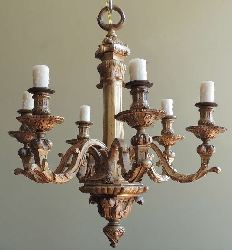 19th C French Bronze Chandelier At 1stdibs In Popular French Bronze Chandelier (View 7 of 10)