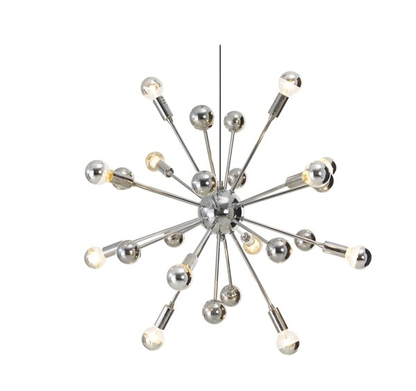 2017 Chrome Sputnik Chandeliers In Small Sputnik Chandelier – Buzzmark (View 1 of 10)