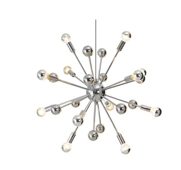 2017 Chrome Sputnik Chandeliers In Small Sputnik Chandelier – Buzzmark (View 6 of 10)