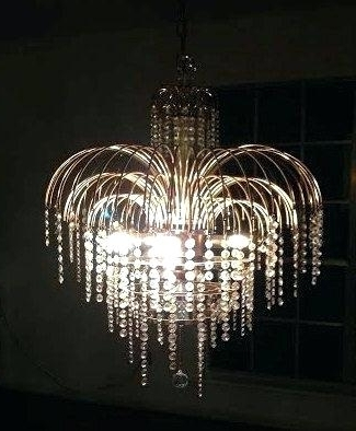2017 Crystal Waterfall Chandelier With Regard To Waterfall Crystal Chandeliers – Stephenphilms (View 10 of 10)