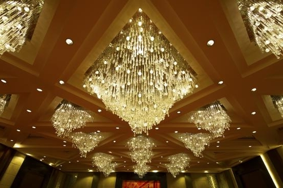 2017 Grand Plaza Ballroom Chandeliers – Picture Of Sofitel Philippine Within Ballroom Chandeliers (View 2 of 10)