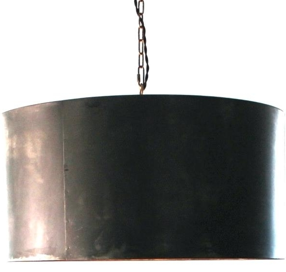 2017 Metal Drum Chandelier Hand Crafted Drum Pendant Light Industrial For Metal Drum Chandeliers (View 4 of 10)