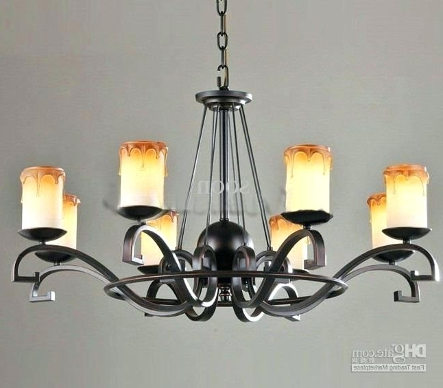 2017 Modern Wrought Iron Chandeliers For Modern Wrought Iron Chandeliers Medium Size Of Wrought Iron (View 3 of 10)