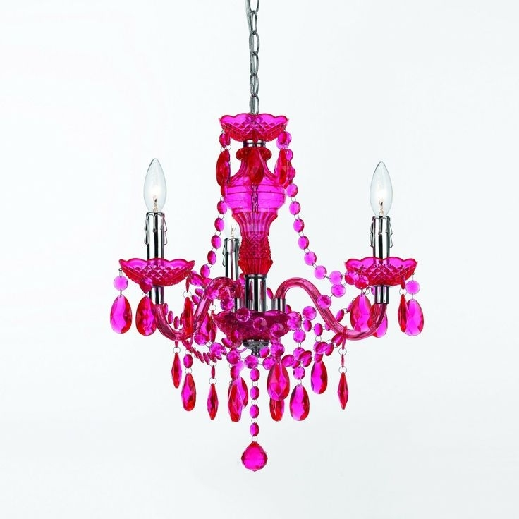 2017 Pink Plastic Chandelier – Best Plastic 2018 Intended For Pink Plastic Chandeliers (View 1 of 10)