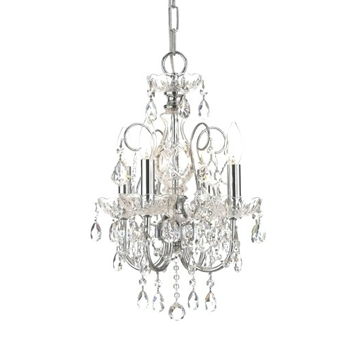 2017 Small Chrome Chandelier Inside Chandeliers ~ Small Chrome Chandelier Small Chrome Crystal (View 1 of 10)