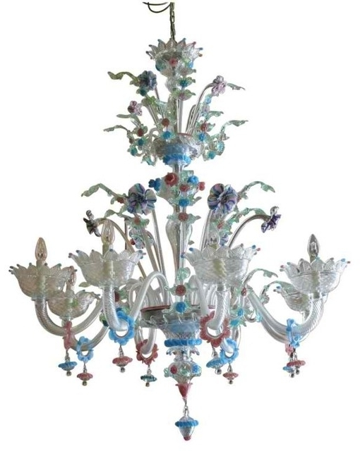 2017 Vintage Italian Chandeliers Regarding Venetian Chandeliers (View 1 of 10)