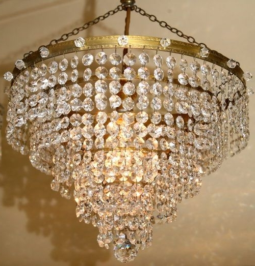 2018 Crystal Waterfall Chandelier With 33 Best Crystal Chandelier Images On Pinterest (View 6 of 10)