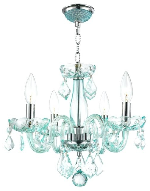 2018 Turquoise Mini Chandeliers With Modern Small Chandelier – Wecanhelpyou (View 6 of 10)
