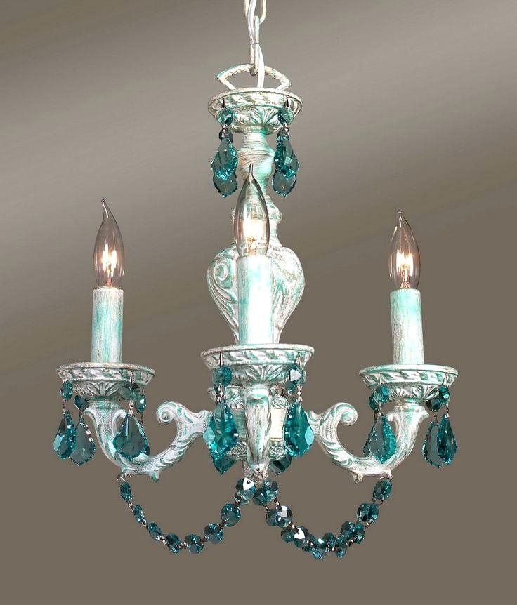 2018 Weird Chandeliers With Regard To Turquoise Crystal Chandelier Best Chandeliers Weird Wonderful And (View 1 of 10)