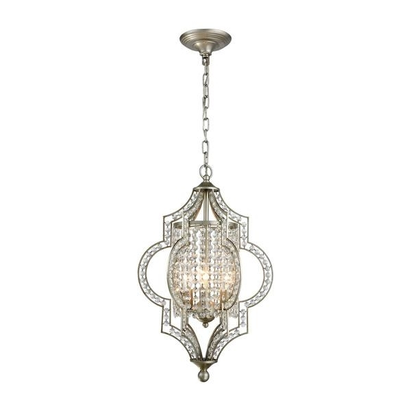 3 Light Crystal Chandeliers With 2018 Silver 3 Light Chandelier (View 8 of 10)