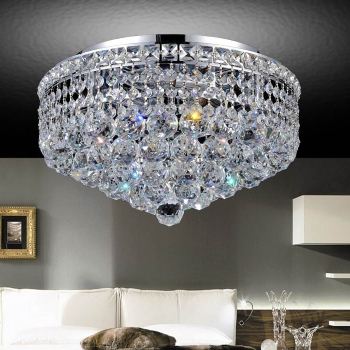 4 Light Chrome Crystal Chandeliers Regarding Newest Brizzo Lighting Stores (View 3 of 10)