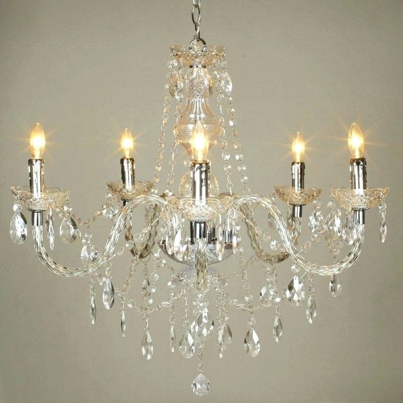 Acrylic Chandeliers In Most Popular Acrylic Chandeliers Wholesale Baroque Acrylic Chandelier All Acrylic (View 4 of 10)